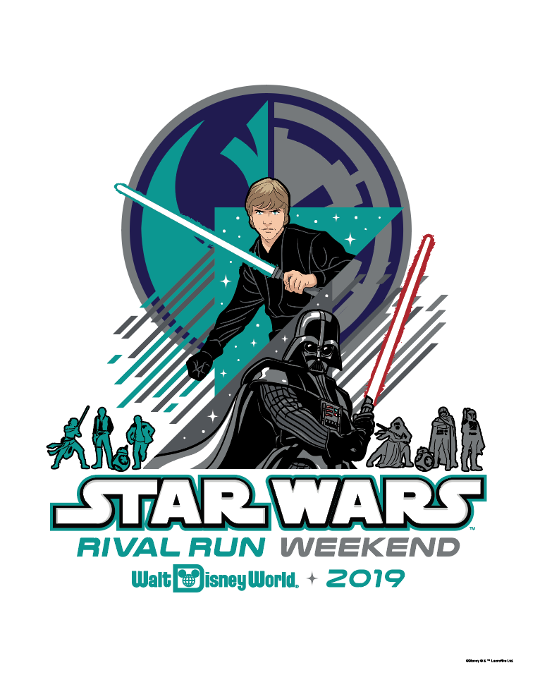 2019 Star Wars™ Rival Run Weekend Print