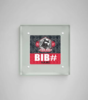 Acrylic Art Bib Display Star Wars™ The Dark Side