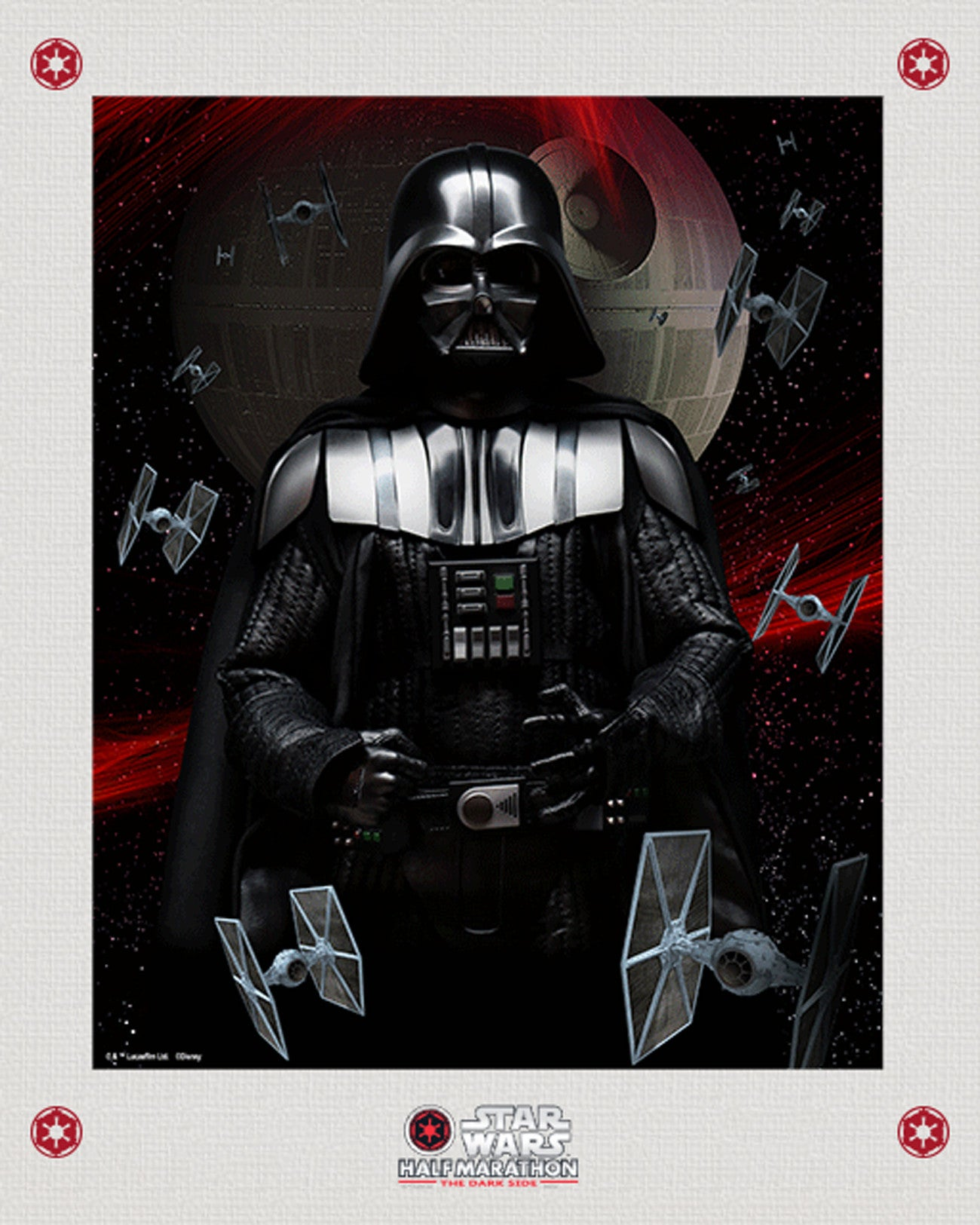 Matted Star Wars™ Dark Side Lenticular