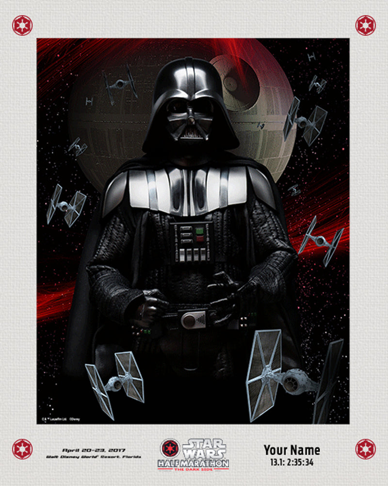 2017 Matted Star Wars™ Dark Side Lenticular with Personalization
