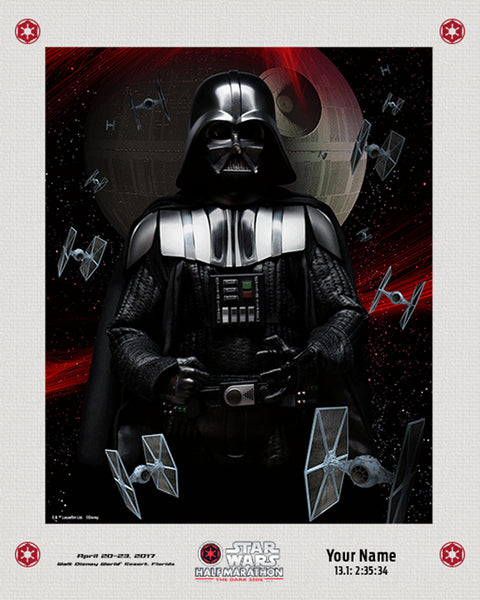 Matted Star Wars™ Dark Side Lenticular with Personalization
