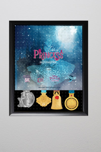 Princess Half Marathon Weekend Event Display