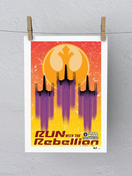2017 Star Wars™ Light Side Half Marathon Weekend Print (Limited Edition)