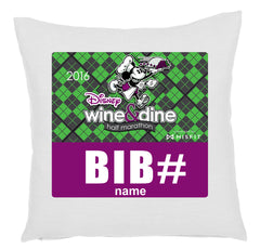 2016 Wine & Dine Challenge Pillow