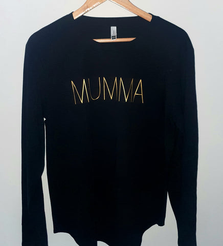 Mumma Long Sleeve Top - Size L