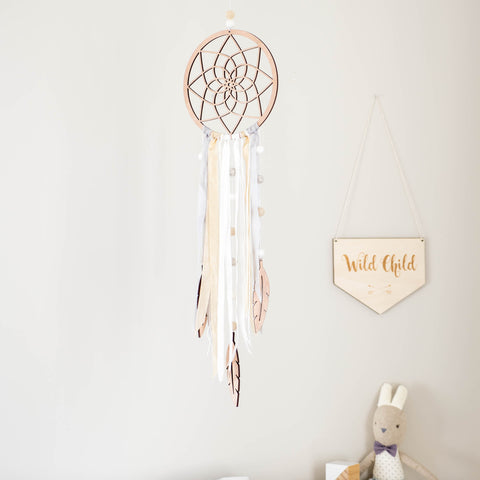 DIY Dream Catcher - Cream