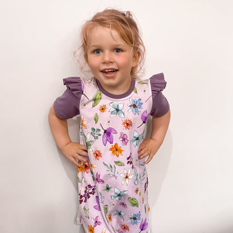 Savannah Dress - Watercolour Floral