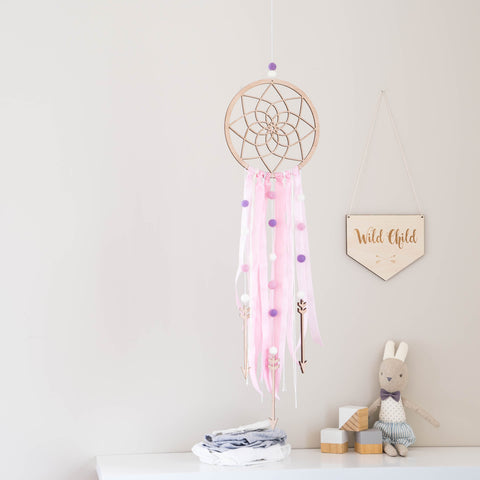 DIY Dream Catcher - Pink