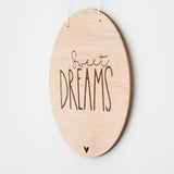 Wall Sign - 'Sweet Dreams'