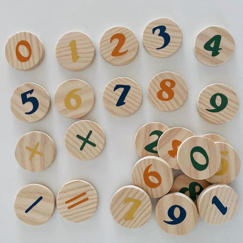 Stellar Wooden Maths Set
