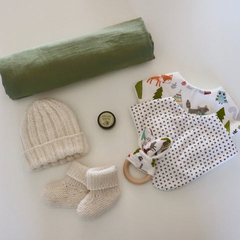 Little Knit Baby Gift Set