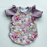 Savannah Dress - Mauve Posy