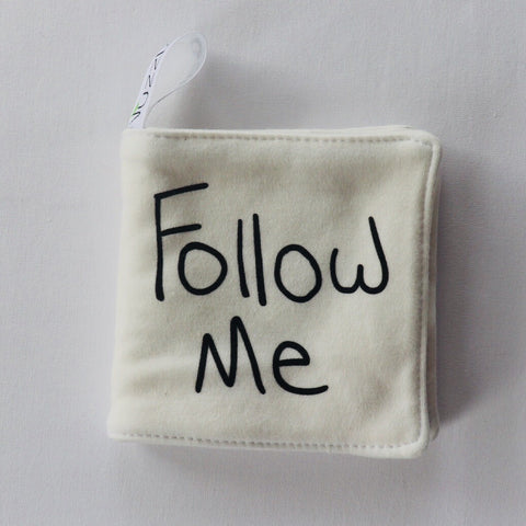 Organic Cotton Follow Me Book