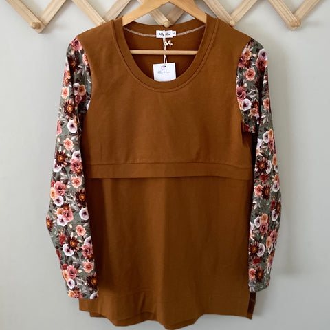 Women's Top - Cinnamon Floral