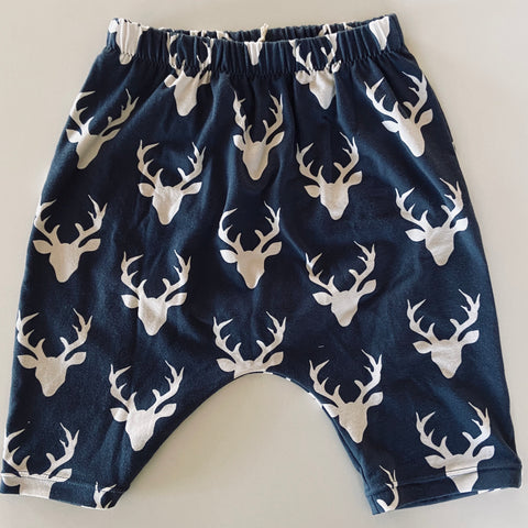 Harem Shorts - Navy Stag
