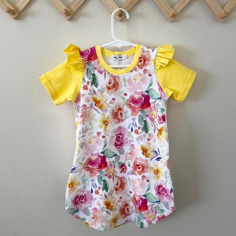 Savannah Dress - Spring Bloom