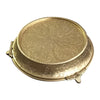 GiftBay Wedding Cake Stand Tapered 14-Inch Round, Gold Finish
