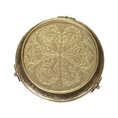 GiftBay Wedding Cake Stand Tapered 12-Inch Round, Gold Finish