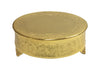 GiftBay Wedding Cake Stand Round 18-Inch, Aluminum Gold Finish