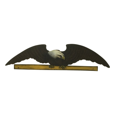 "GiftBay Wooden Wall Mounted American Eagle, 43.5"" Length"