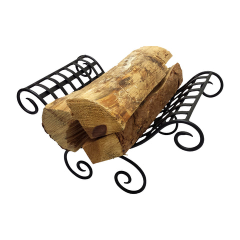 "GiftBay 1113 Log Holder | 9.5"" High 
