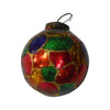 "GiftBay ORN-125(S/12) Antique-look Glass Ornament 3"" H, Set of 12 for Christmas Tree Decorations"