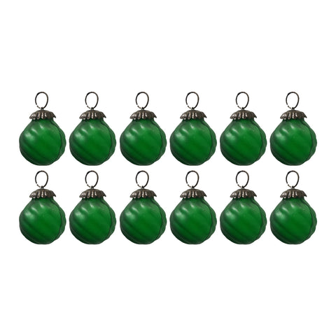GiftBay Christmas Glass Ornament 004 (Set of 12)