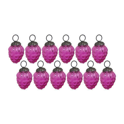 GiftBay Christmas Glass Ornament 008 (Set of 12)