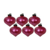 GiftBay 090(S/6) Glass Christmas Tree Ornament Set of 6 Pcs. An Antique-look Glass Ornament Set.