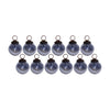 GiftBay 029(S/12) Antique-look Glass Ornament Set of 12 for Christmas Tree Decorations.