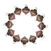 "GiftBay ORN-108(S/12) Antique-look Glass Ornament 2.5"" H, Set of 12 for Christmas Tree Decorations"