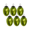 GiftBay 066(S/6) Glass Christmas Tree Ornament Set of 6 Pcs. An Antique-look Glass Ornament Set.