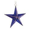 "GiftBay 341-B Huge Blue Hanging Glass Star 20"" High for Indoor and Outdoor Festive Christmas Decoration"