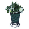 "GiftBay 807-BG Tall Wire & Pot Black & Green Container / Vase 11"" High. Very Unique and Strongly Built for Multi- Purpose Use"