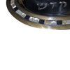 "GiftBay 597 Challah Bread Oval Silver Finish Tray 14""x9"" and Cutting Knife Set Polished Aluminum Made"