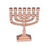 "GiftBay 6026 Menorah 7-Branch, Small Size, Plated with Antique Copper Finish 3""x1""x3.75"" H"