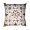 "GiftBay Square Shape Set of 2 Throw Pillow Cushion Cover 16"" x 16"" with Pillow"