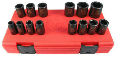 "1/2"" Drive 14 Piece Socket Set (Standard) SS4114"