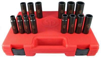 "1/2"" Drive 14 Piece Socket Set (Deep) SS4114D"