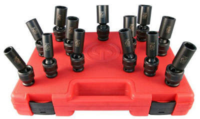"1/2"" Drive 13 Piece Universal Socket Set (Deep) SS4113DU"