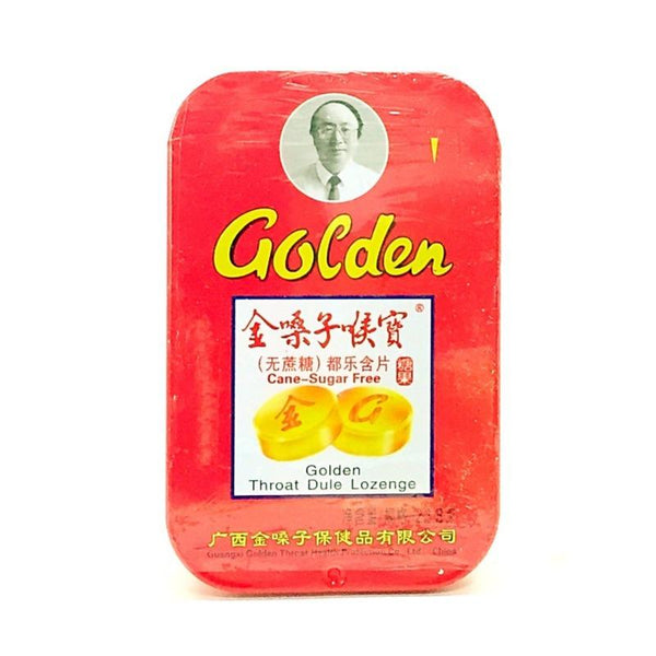 GOLDEN THROAT DULE LOZENGE CANE SUGAR FREE