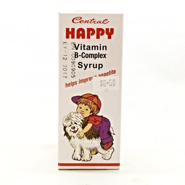 CENTRAL HAPPY VITAMIN B-COMPLEX SYRUP (HELP IMPROVE APPETITE)