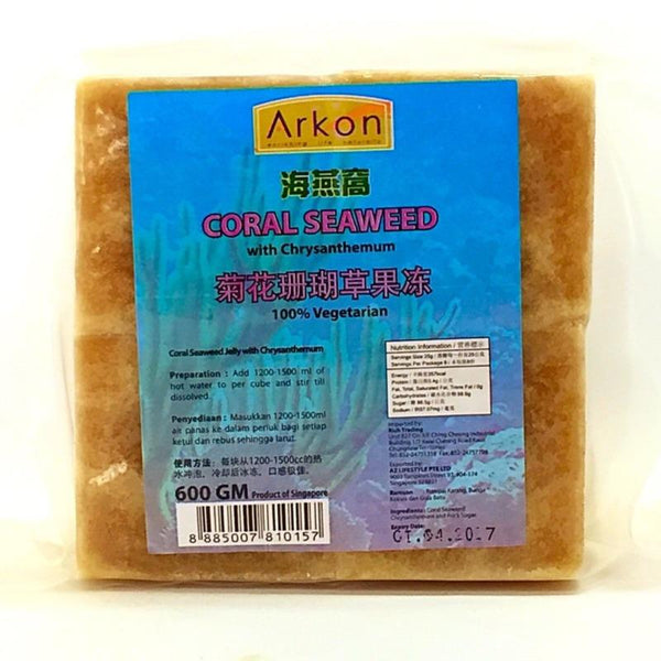 ARKON CORAL SEAWEED WITH CHRYSANTHEMUM