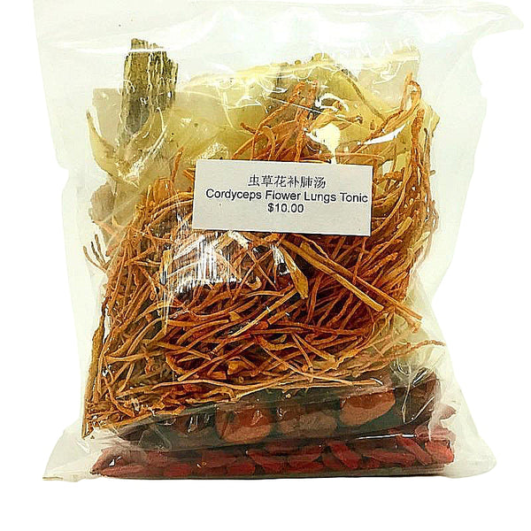 Cordyceps flower lungs tonic