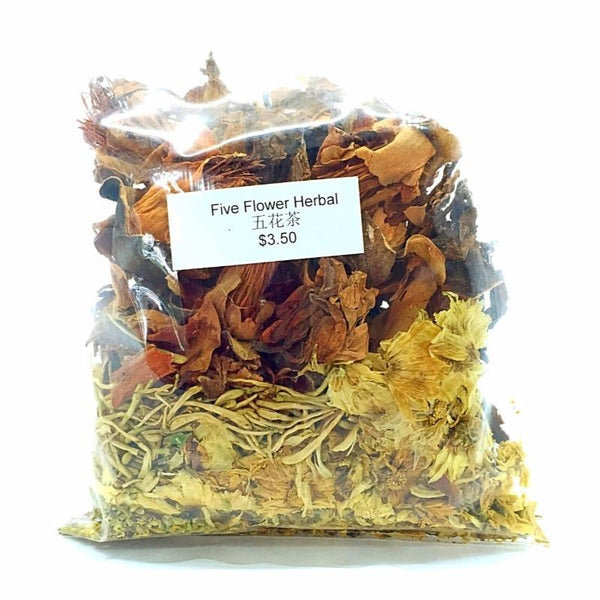 FIVE FLOWER HERBAL TEA