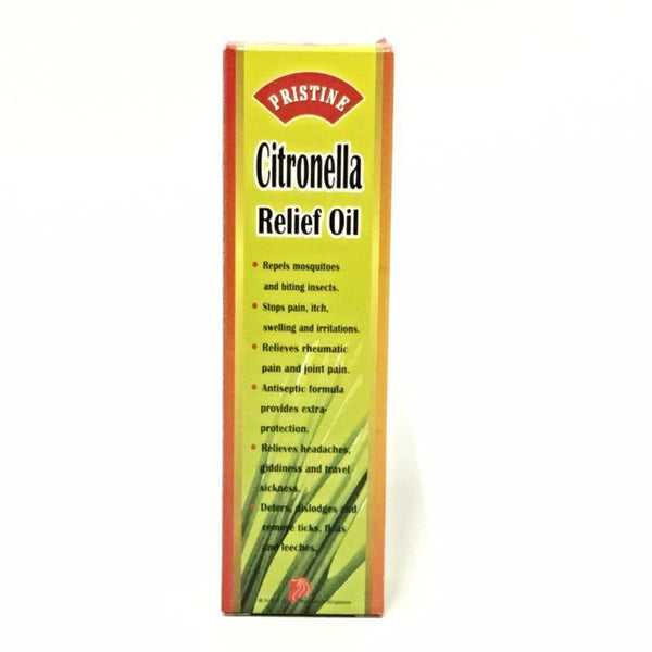 CITRONELLA RELIEF OIL PRISTINE