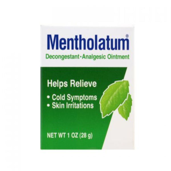 MENTHOLATUM DECONGESTANT-ANALGESIC OINTMENT 28 G