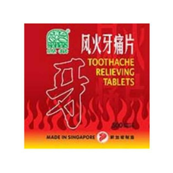 NATURE'S GREEN TOOTHACHE RELIEVING TABLETS