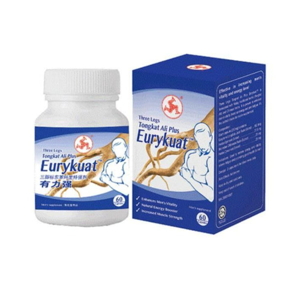 THREE LEGS TONGKAT ALI PLUS EURYKUAT CAPSULES