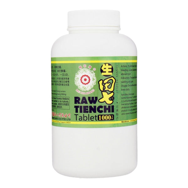 RAW TIEN CHI TABLET